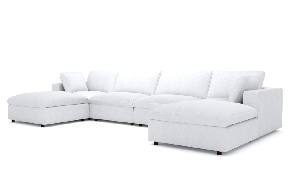 Blythe White 6-Piece Sectional