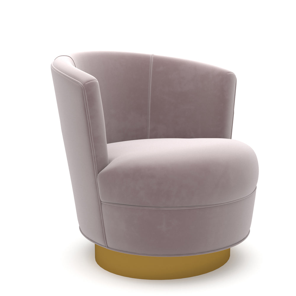 Cedar Blush Swivel Chair