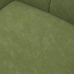Crest Green Velvet Chair
