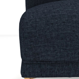 Frankie Midnight Blue Velvet Chair