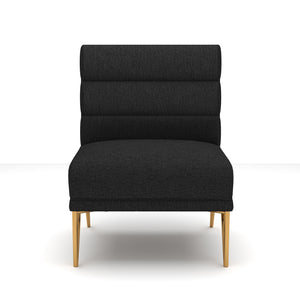 Frankie Gray Velvet Chair
