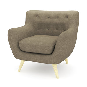 Lotus Light Brown Chair