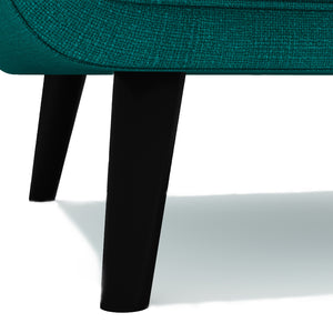 Lucas Teal Fabric Chair