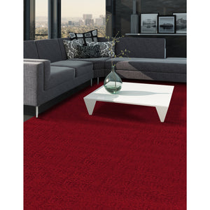 Rosette Red MPMI00041 Rug