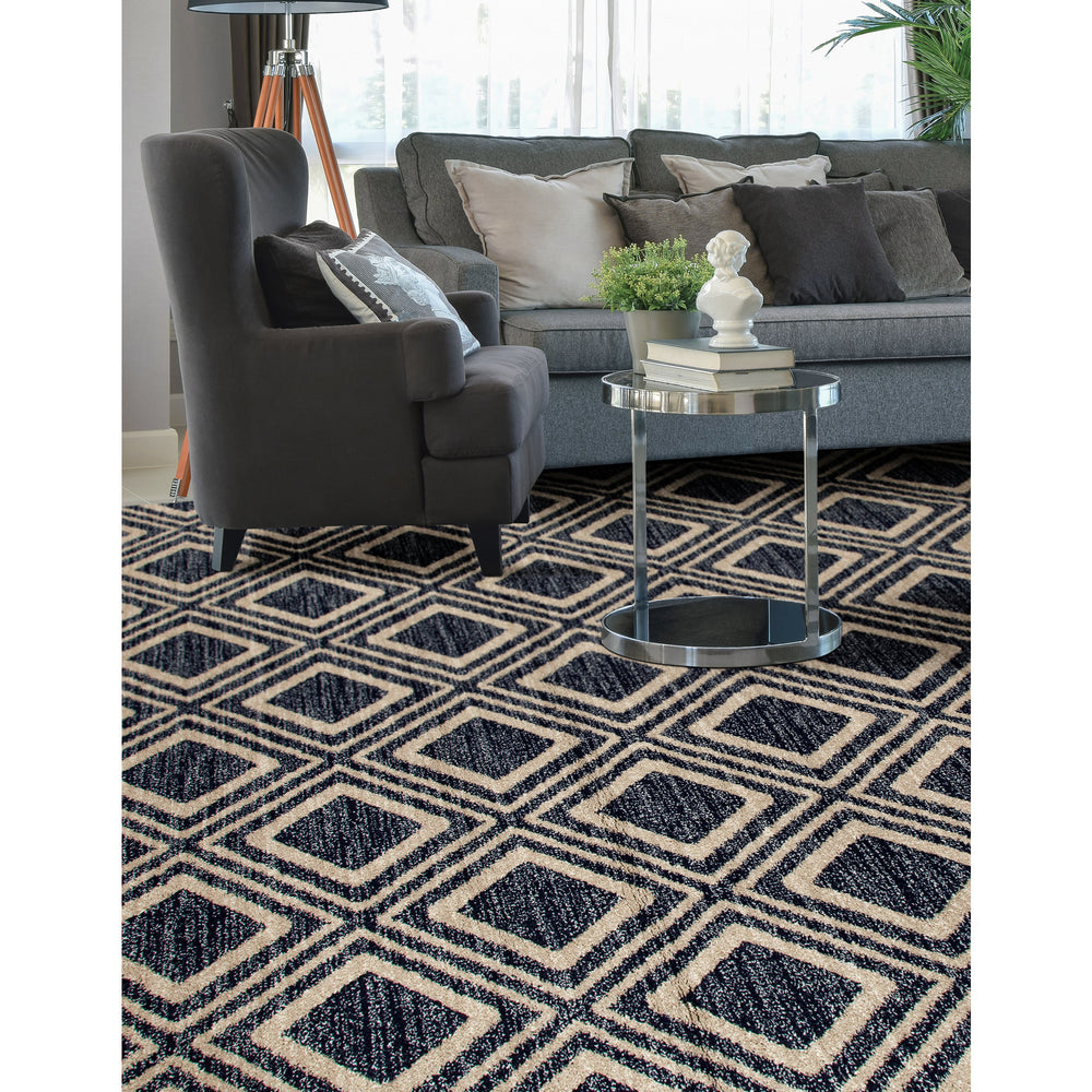 Hill Blue MPTW0008 Rug