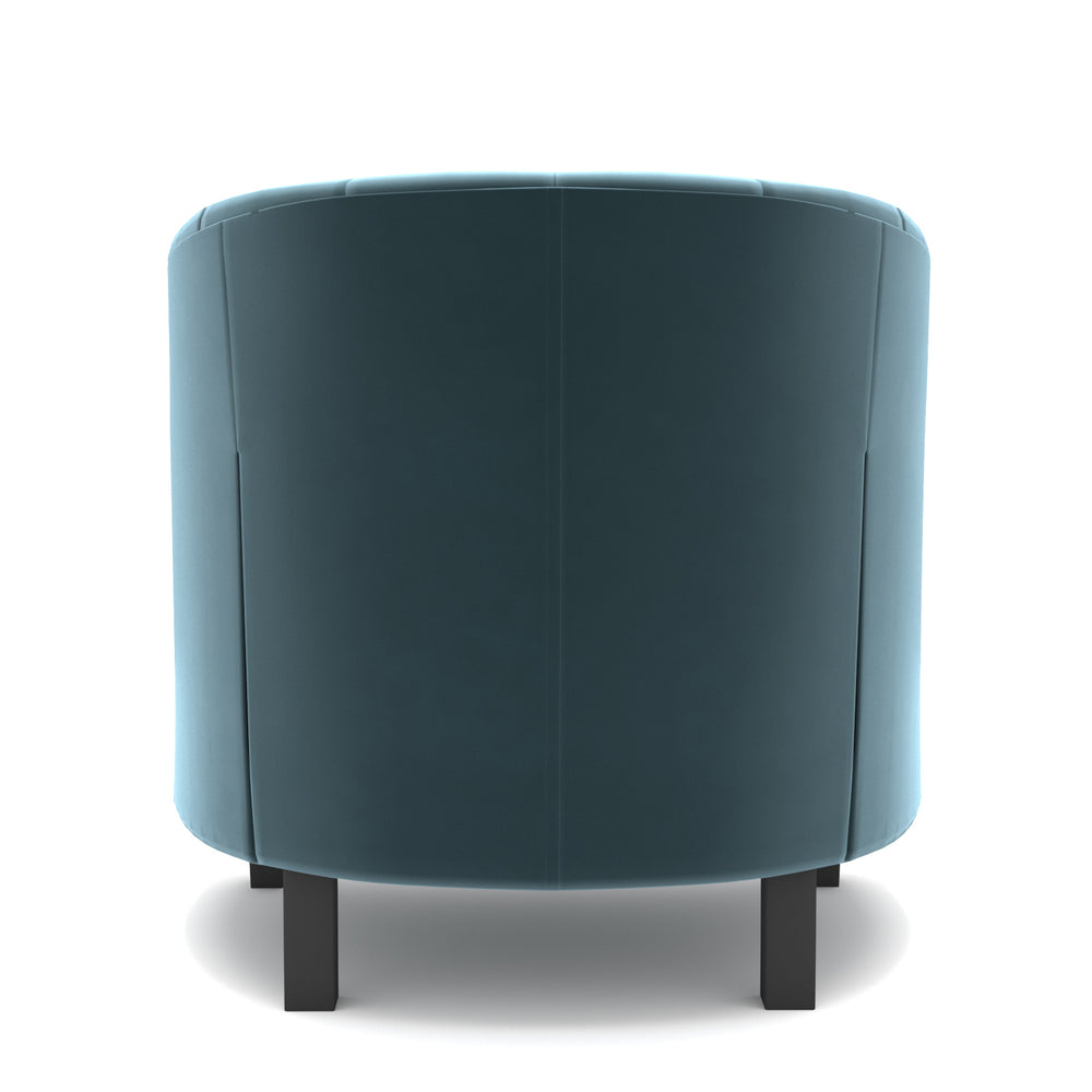 Narragansett Seablue Velvet Chair