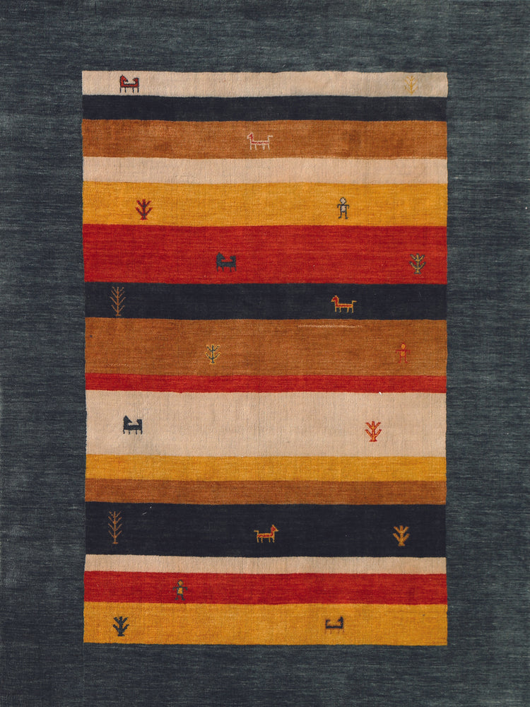 Savannah Red-Green NOM-11 Rug