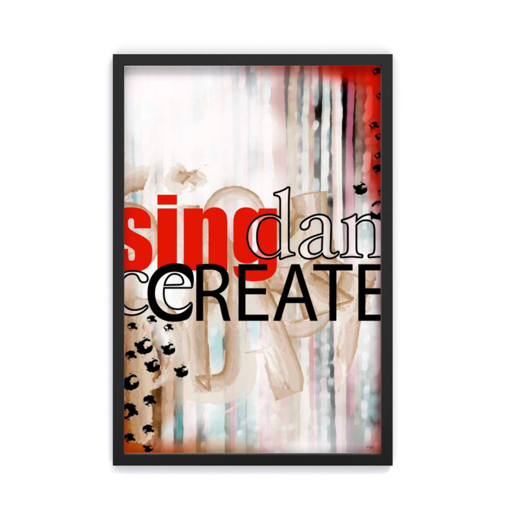 Sing Dance Create Differently