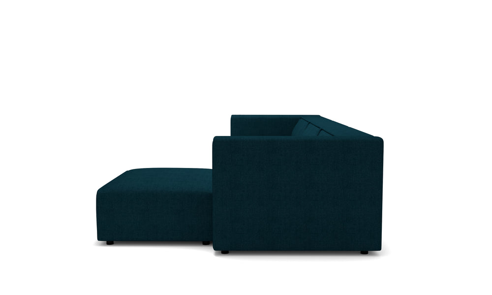 Vince Navy Right Sectional