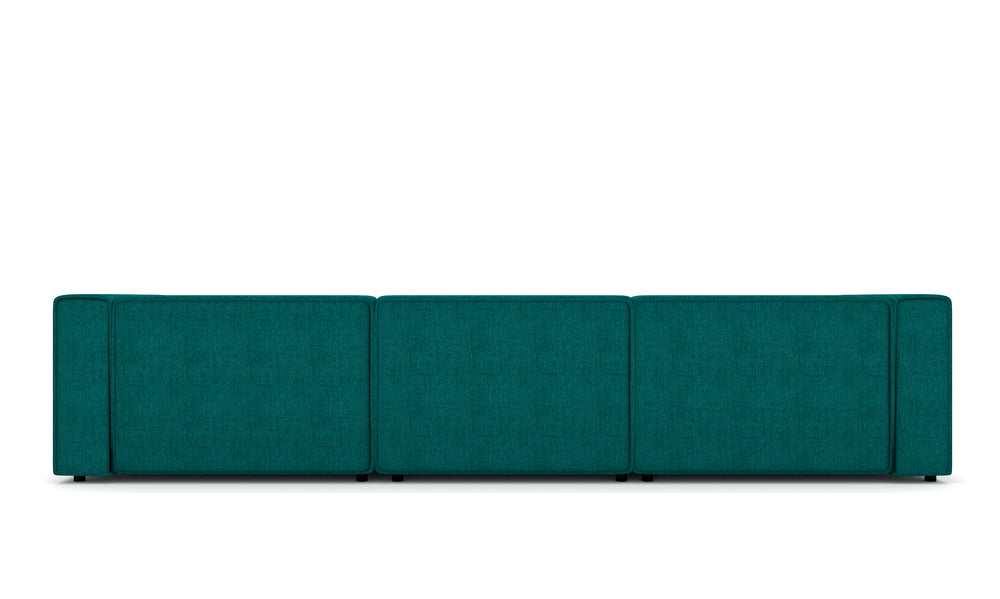 Vince Teal Right Sectional