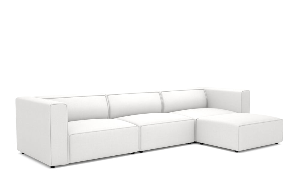 Vince White Right Sectional