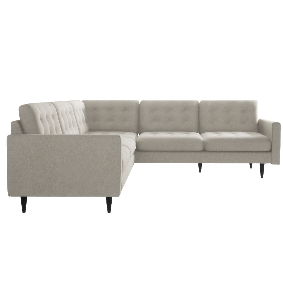 Hudson Beige Sectional