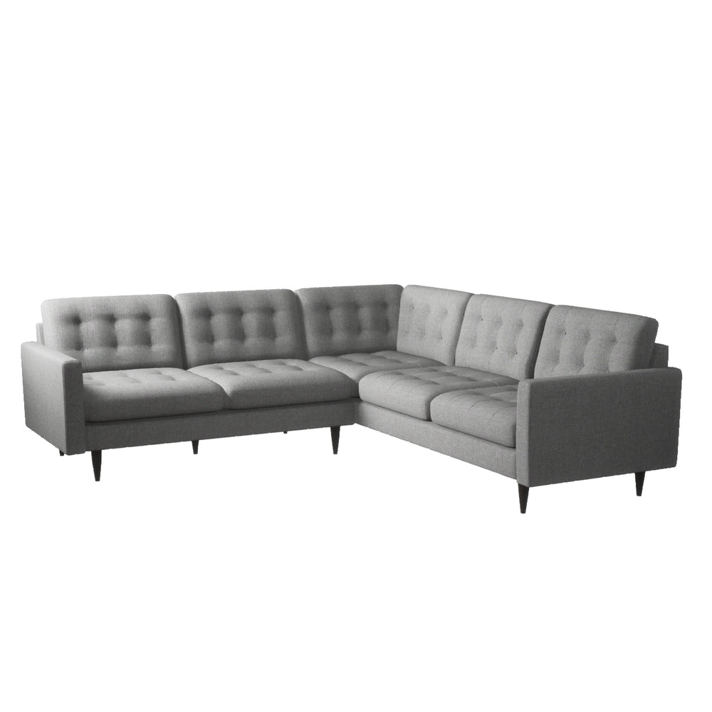 Hudson Light Gray Sectional