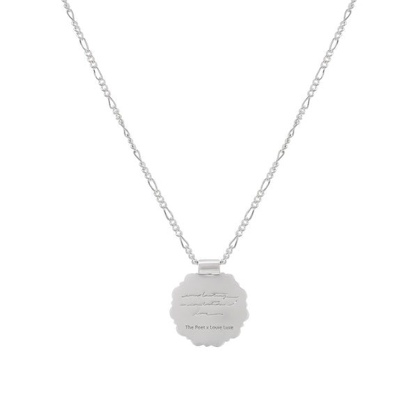 *PRE-ORDER* Silver Mother Rose Pendant: Limited Edition Louie Luxe Collab