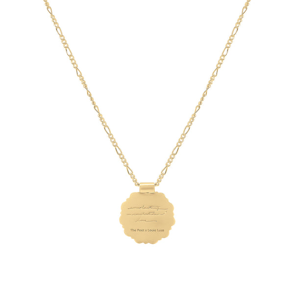 *PRE-ORDER* Gold Mother Rose Pendant: Limited Edition Louie Luxe Collab