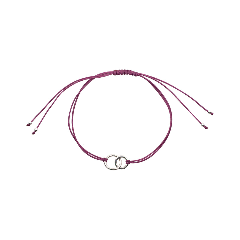 Friends X Forever Bracelet: Plum
