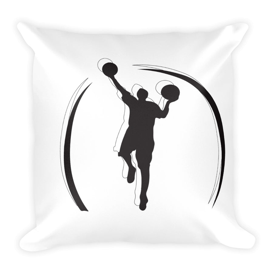 Double Logo Basic Pillow