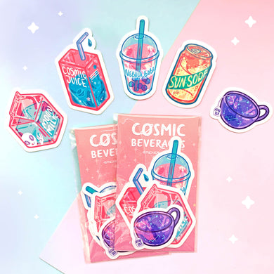 Cosmic Beverages Sticker Pack