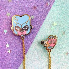 Load image into Gallery viewer, ☆ JJBA - Crazy Diamond Collar Pin ☆