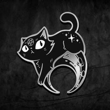 Load image into Gallery viewer, Eclipse Kitty Pin