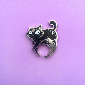 Eclipse Kitty Pin