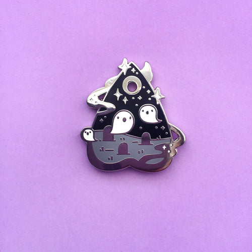Ghost Terrorium Pin