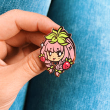 Load image into Gallery viewer, Strawberry Girl Pin