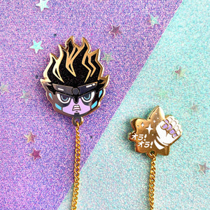 ☆ JJBA- Star Platinum Collar Pin ☆