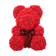 Red LOVE Rose Bear