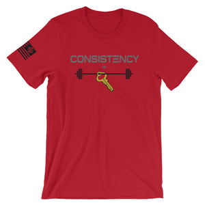 Consistency Is Key MW Tee