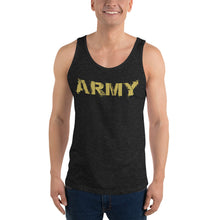 Load image into Gallery viewer, Gold Army Paint Tank Top
