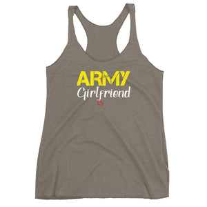 Army Girlfriend Tank Top (Army Yellow)