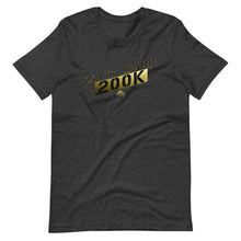 Load image into Gallery viewer, Gold 200K Sub Tee (Outlined)