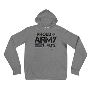 Proud Army Fiance Hoodie