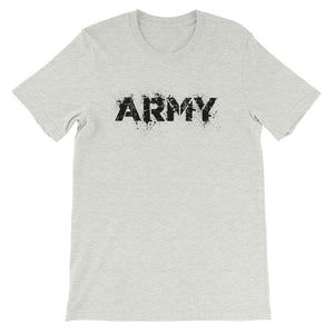 Splatter Paint Army Unisex Tee