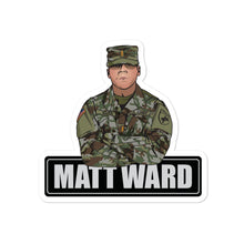 Load image into Gallery viewer, Matt Ward Bubble-free sticker