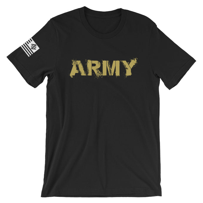 Gold Army Paint Tee