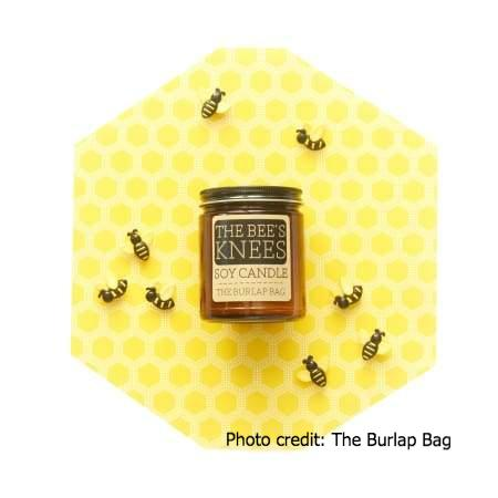 The Bee's Knees Soy Candle