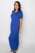 Exclusive Maxi Dress (Blue)