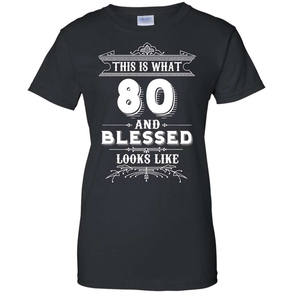 518da3506 Funny For 80 Year Old Man Woman Happy Birthday Gifts Apparel – Mintozy