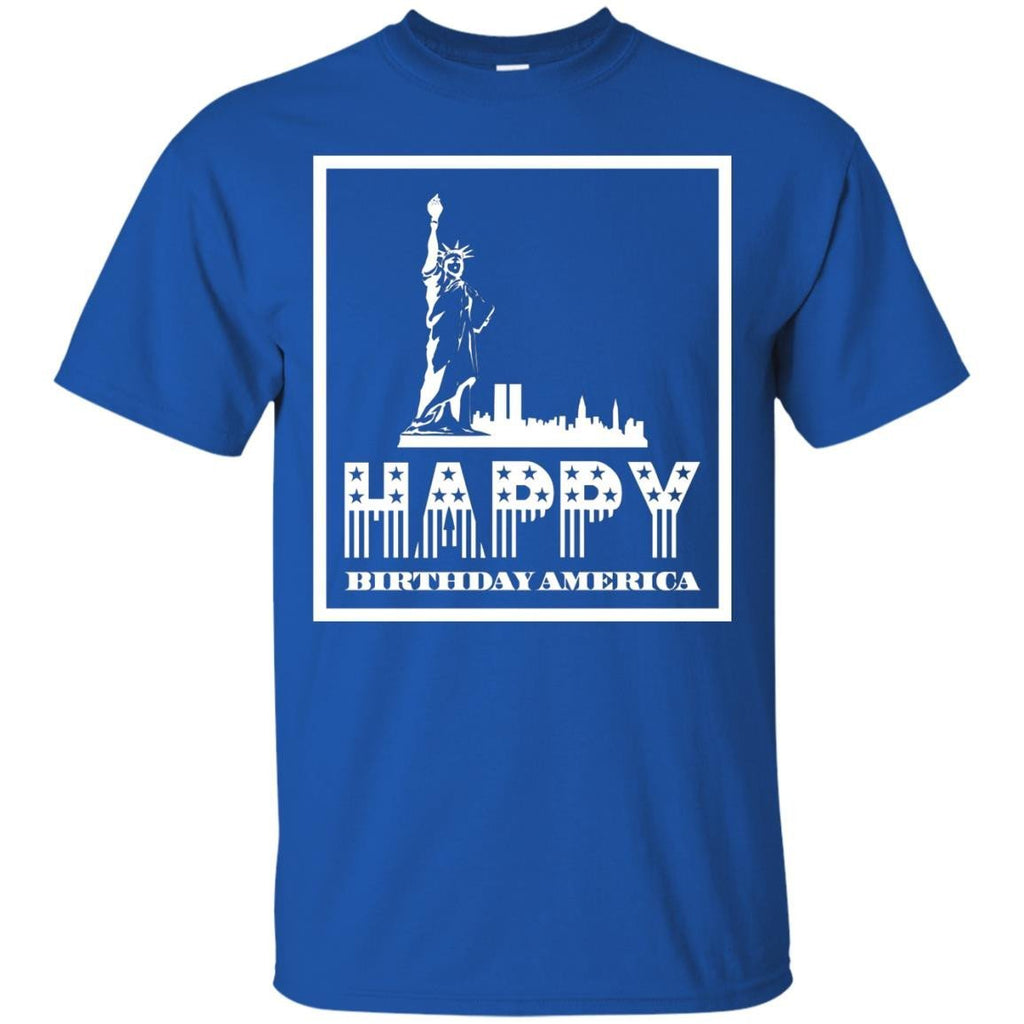 4th Of July Happy Birthday America Design T Shirt