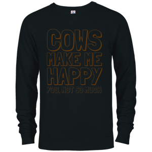 4d9a3e38 Funny Cow Shirt Cows Make Me Happy You Not So Much T-Shirt – Mintozy