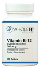 Load image into Gallery viewer, Vitamin B-12 / Cyanocobolamin (500 mcg)