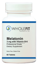 Load image into Gallery viewer, Melatonin (3 mg) with Vitamin B-6