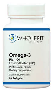 Omega-3 Fish Oil (Enteric Coated, High Potency)