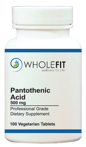 Pantothenic Acid (500 mg)
