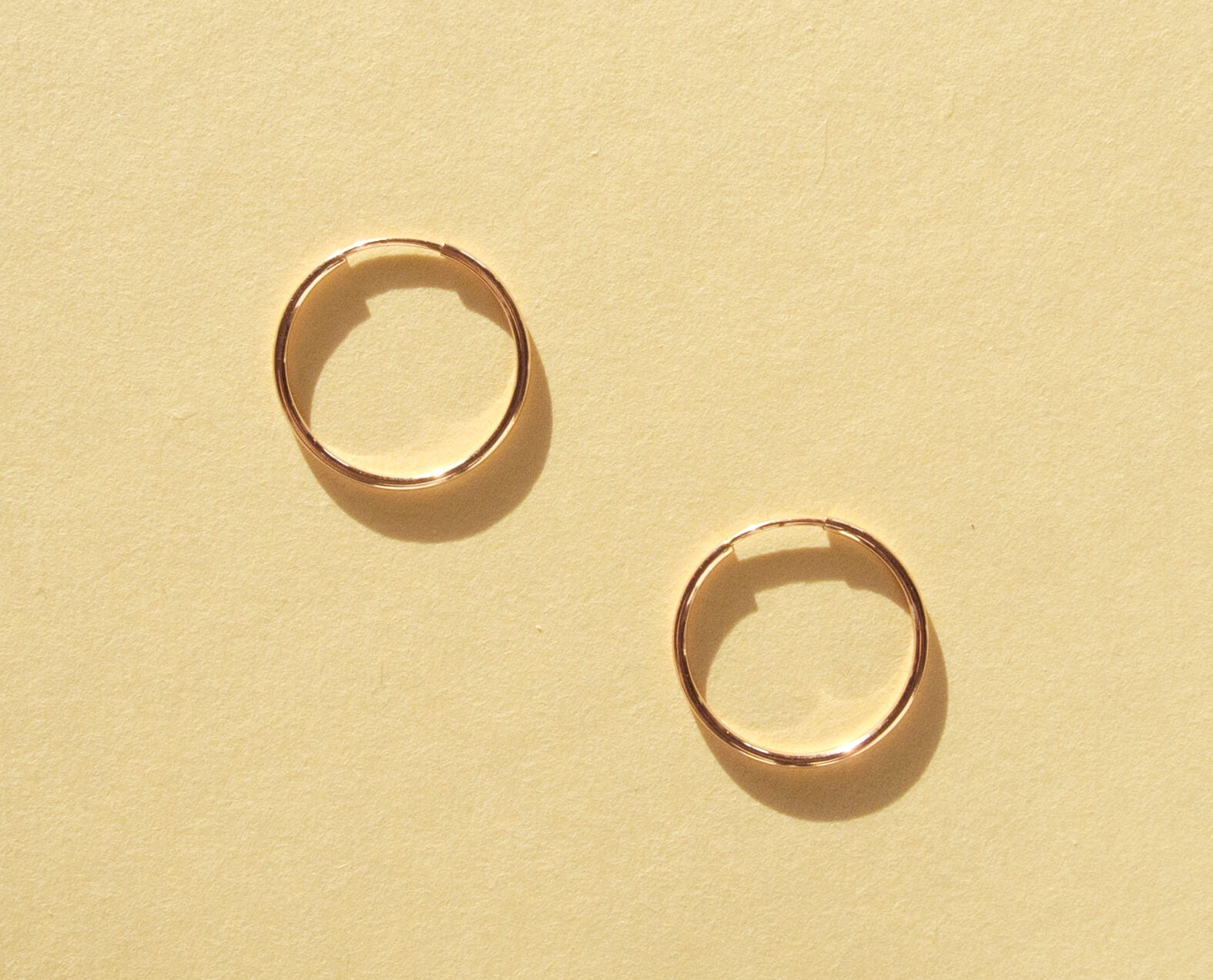 Nova Hoops / Rose Gold - 20 mm-QuazarJewelry