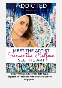Meet The Artist hosted by Addicted Gallery Singapore