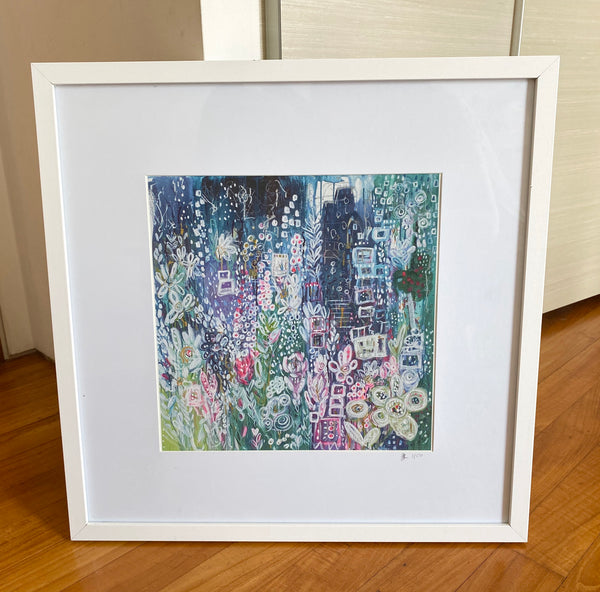 Urban Garden 1st edition limited edition framed fine art print. Collection only.