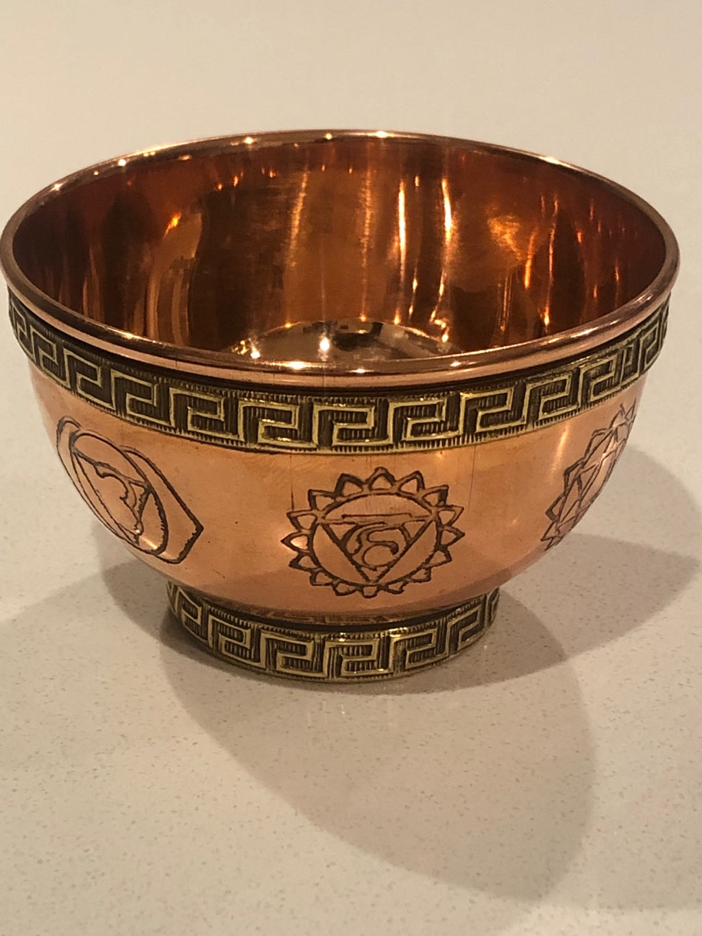 Copper Offering Bowl (Chakra)